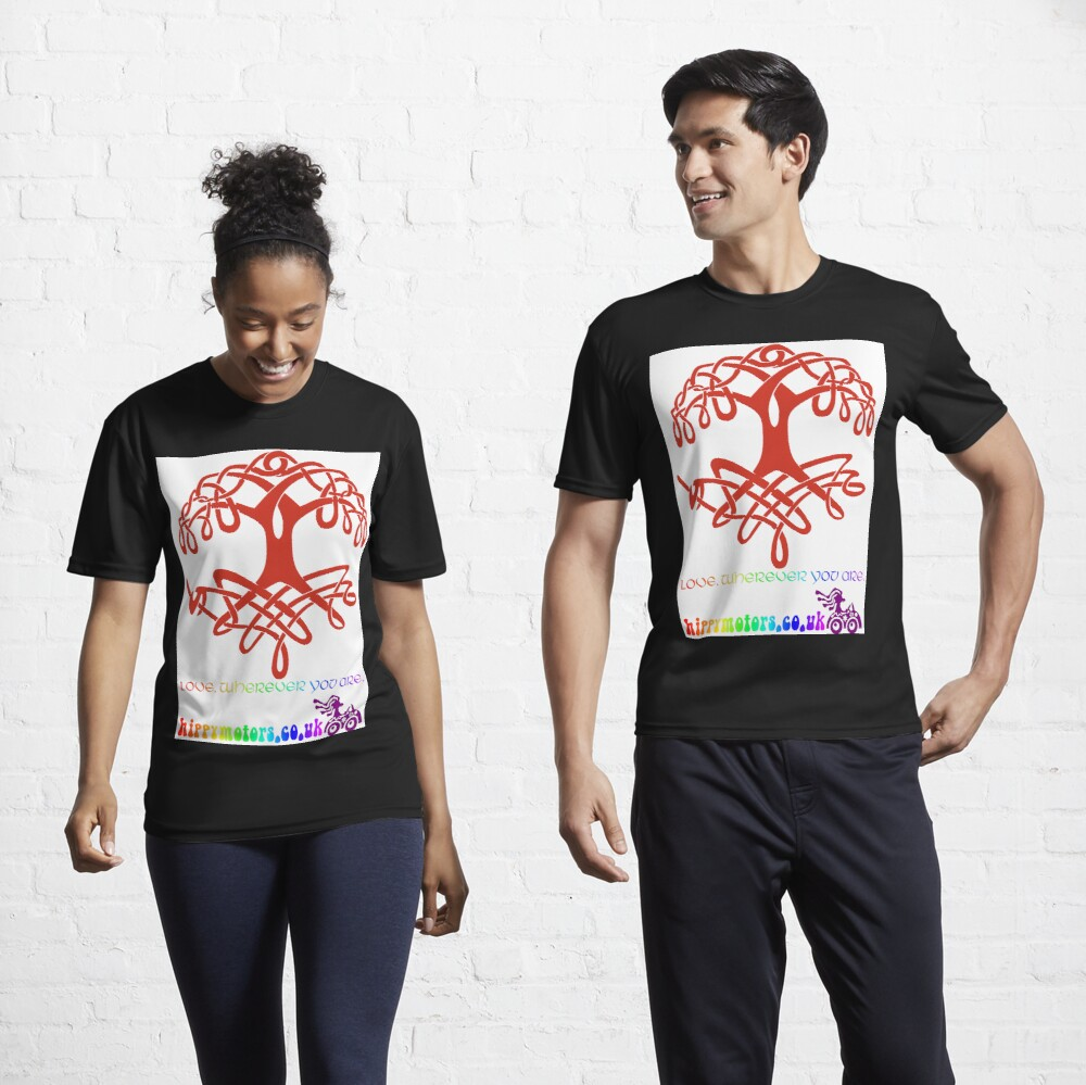 Celtic Tree of Life Active T-Shirt