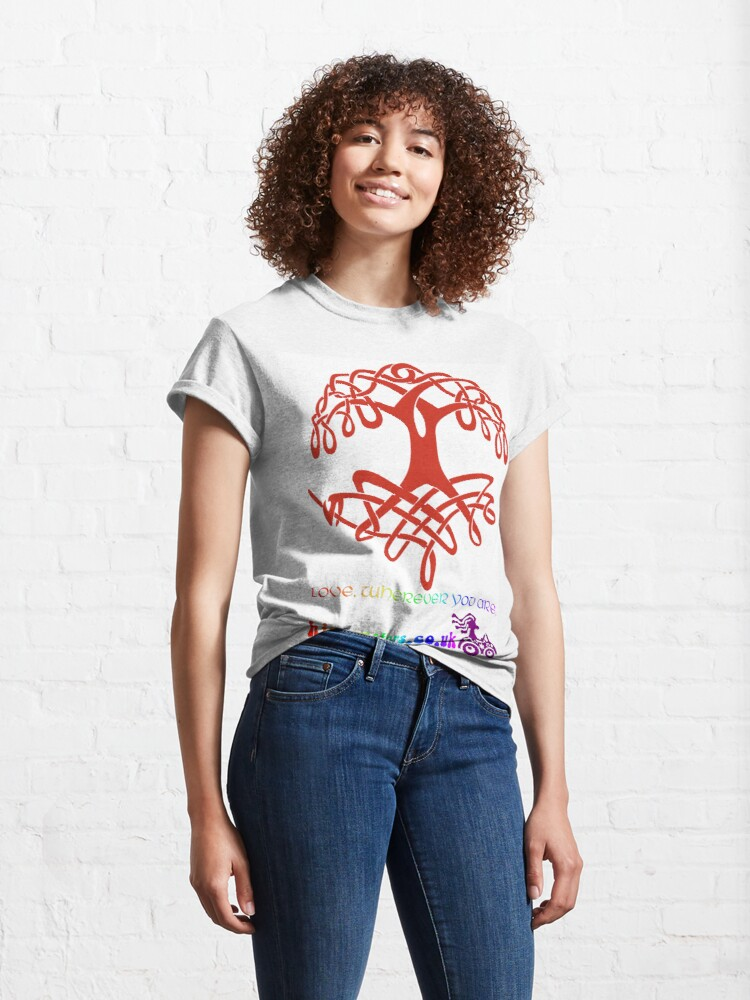 Alternate view of Celtic Tree of Life Classic T-Shirt