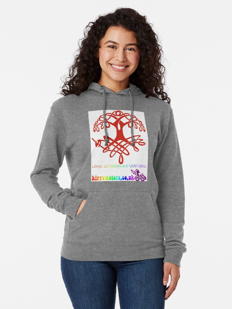 Alternate view of Celtic Tree of Life Lightweight Hoodie