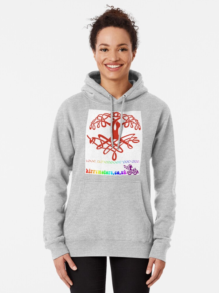 Alternate view of Celtic Tree of Life Pullover Hoodie