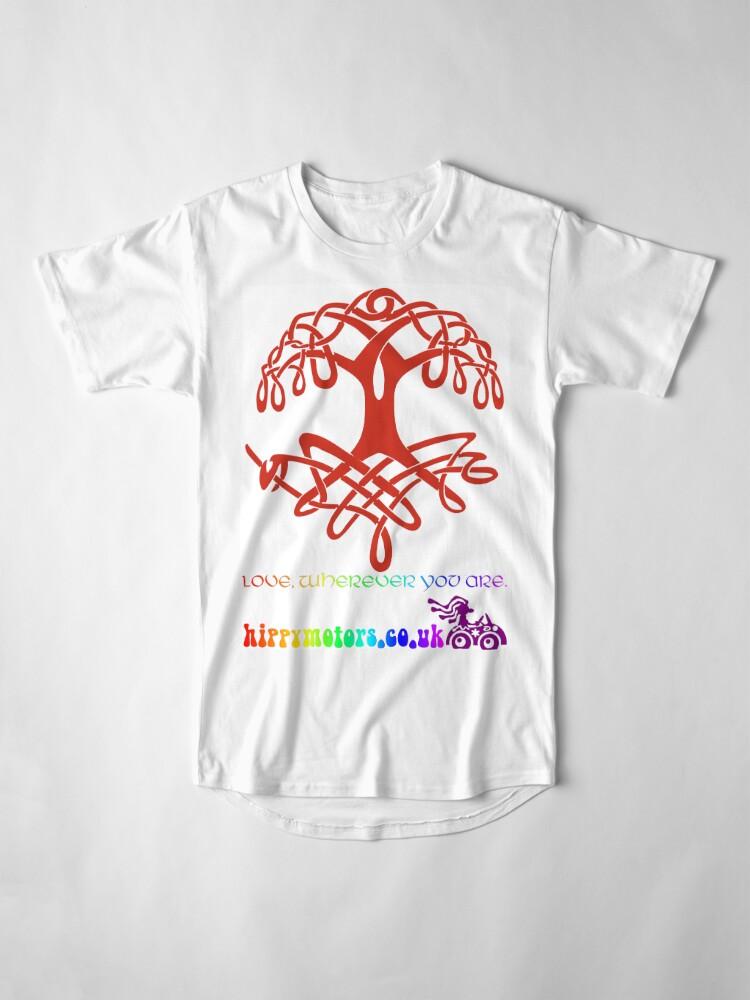 Alternate view of Celtic Tree of Life Long T-Shirt