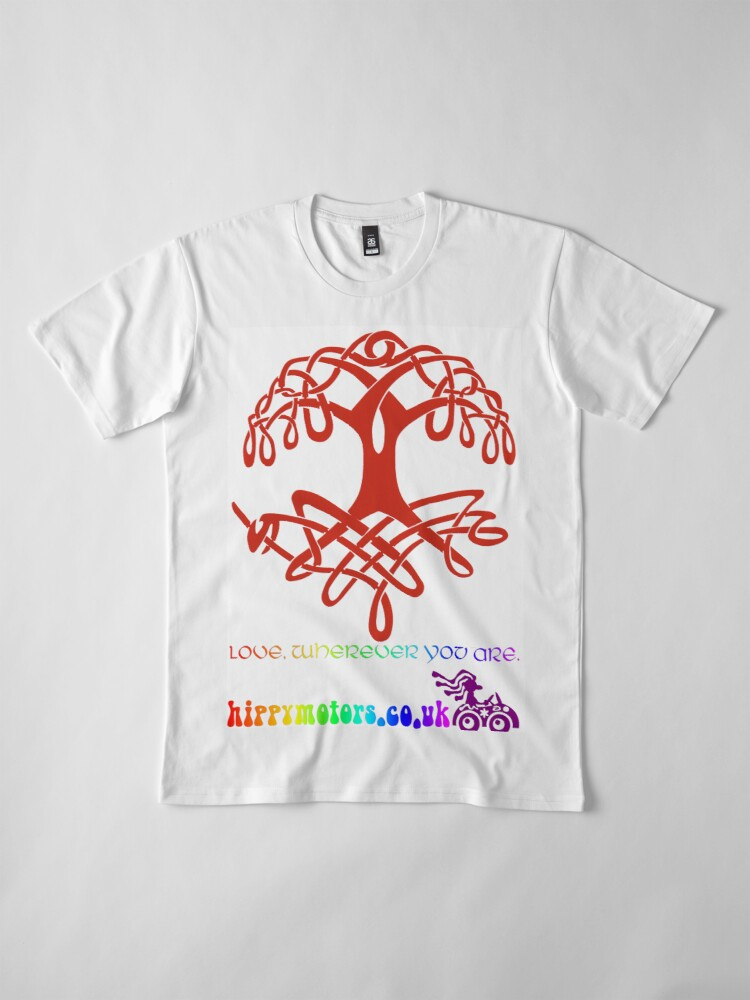 Alternate view of Celtic Tree of Life Premium T-Shirt