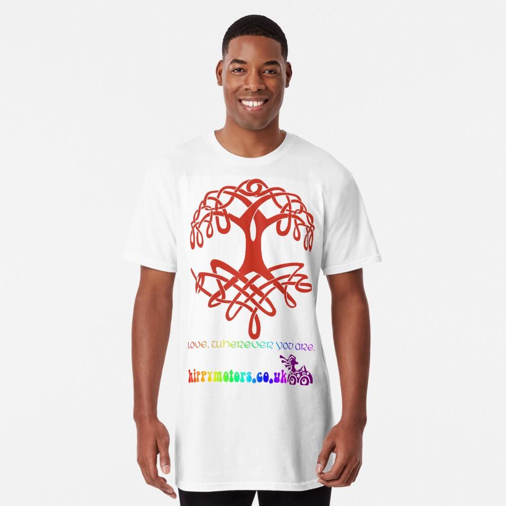 Celtic Tree of Life Long T-Shirt