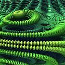Alien Ship by Lyle Hatch