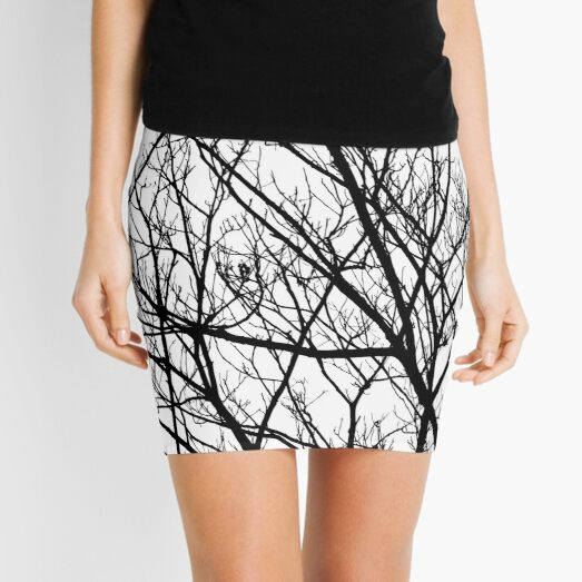 Tree branches no leaves Mini Skirt