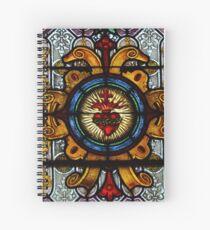 Cuaderno de espiral Sacred Heart of Jesus