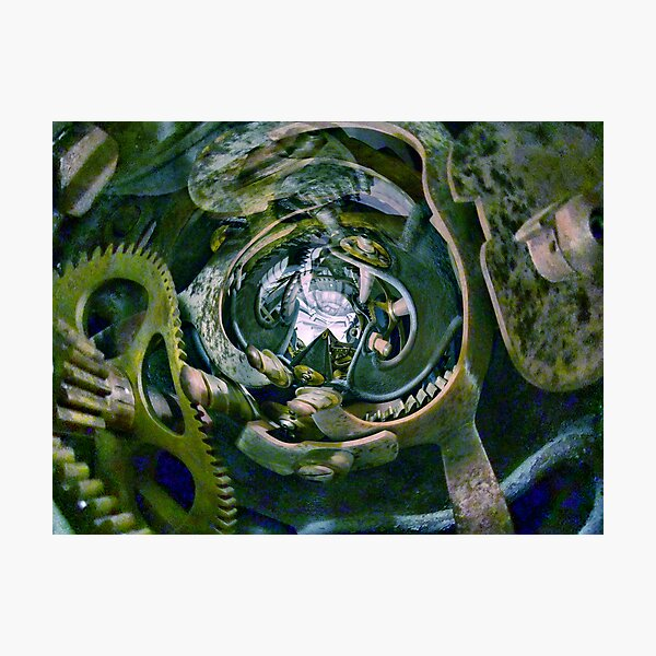 Curved space-time 12 Photographic Print