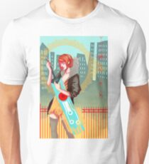 Red and Sword Unisex T-Shirt