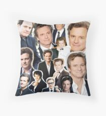 Colin Firth Throw Pillow