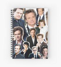 Colin Firth Spiral Notebook