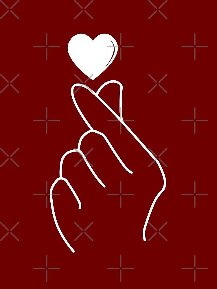 Finger Heart Korean by kleynard