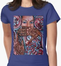 Henna Womens Fitted T-Shirt