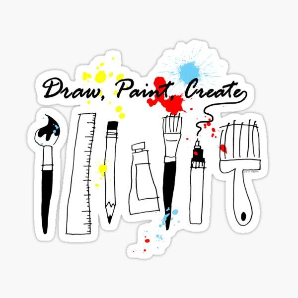 Draw Paint Create   Sticker