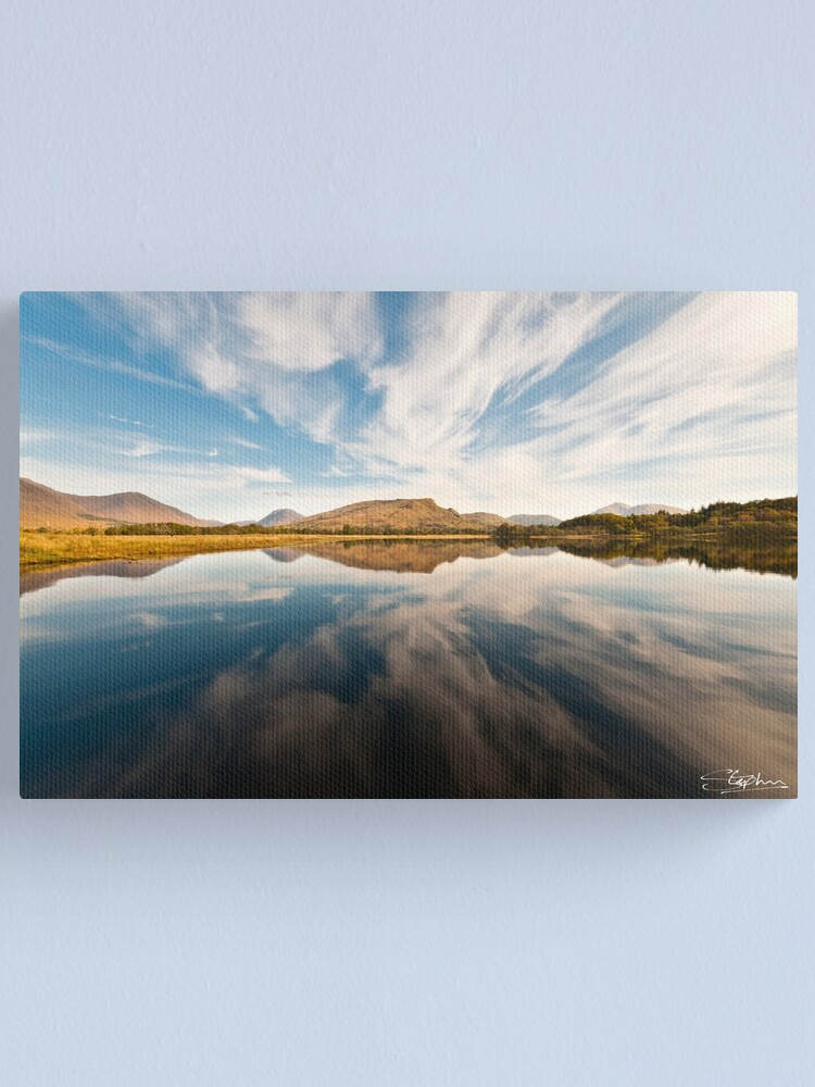Alternate view of An AWEsome Reflection Canvas Print