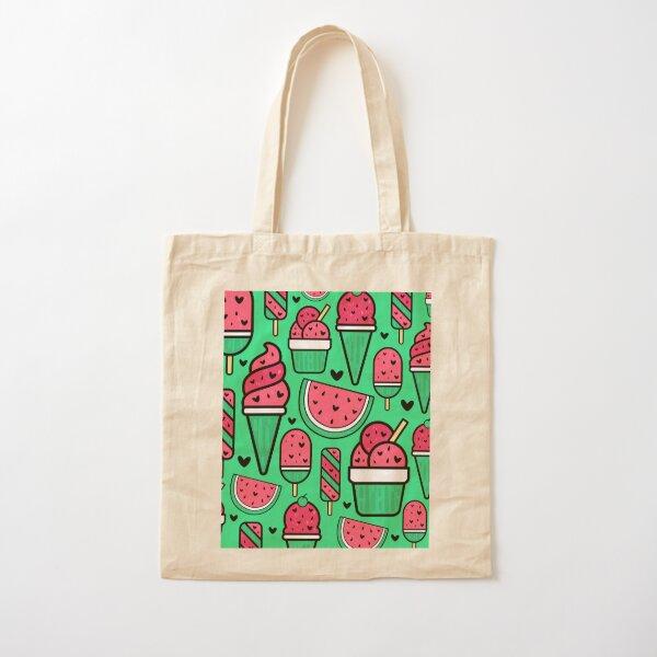 Sweet Watermelon  Cotton Tote Bag