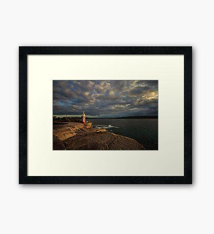 Hornby Lighthouse, South Head Framed Print