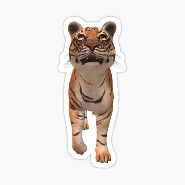 Savage big 3D tiger  Sticker