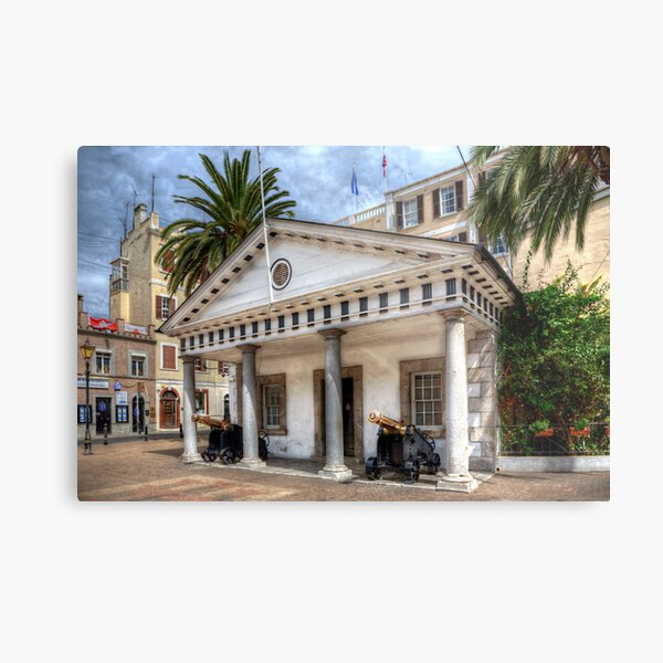 The Convent Guardhouse Gibraltar Metal Print