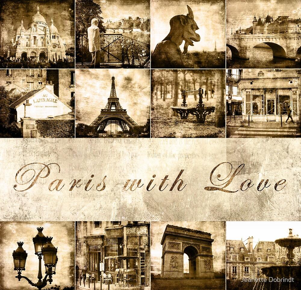 "Paris Calendar Cover ""Paris with Love"" by smilyjay"