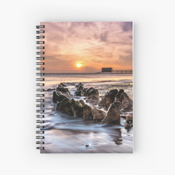 Bembridge Lifeboat Station Sunrise Isle Of Wight Spiral Notebook