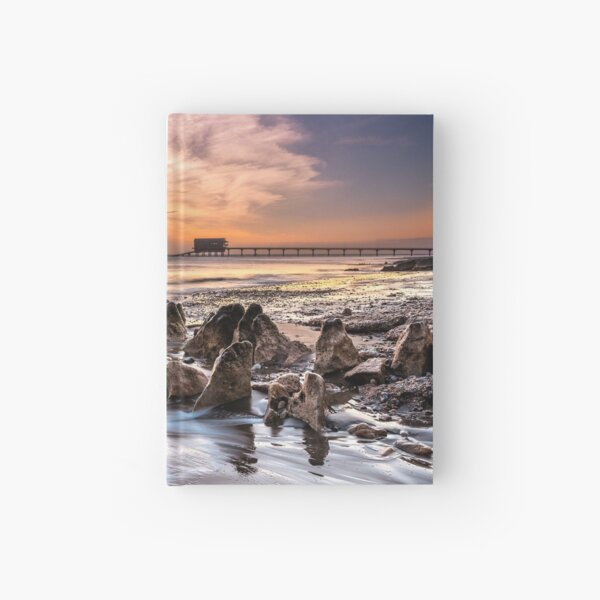 Bembridge Lifeboat Station Sunrise Isle Of Wight Hardcover Journal