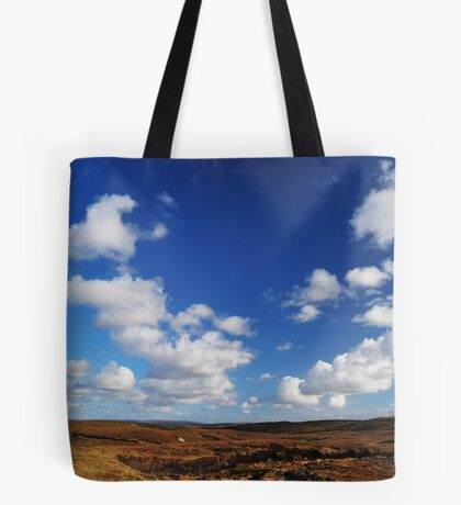 in between peatland & deep sky Tote Bag