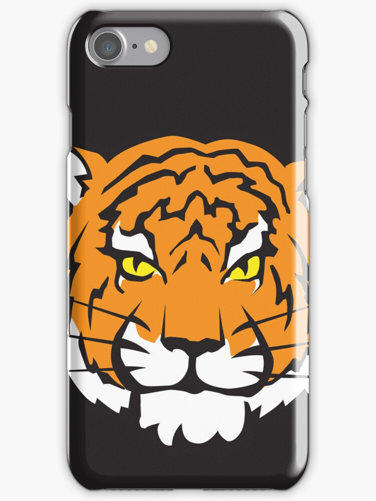 Tiger iPhone Case by DetourShirts