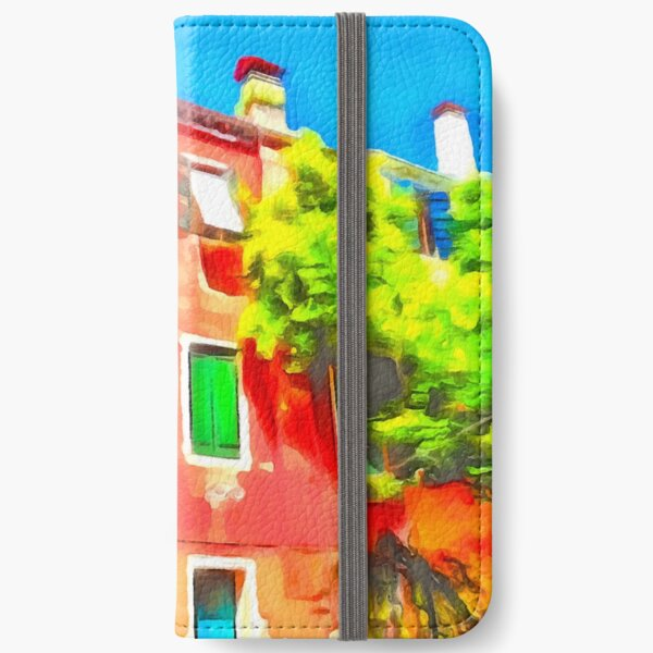Colour in Venice iPhone Wallet