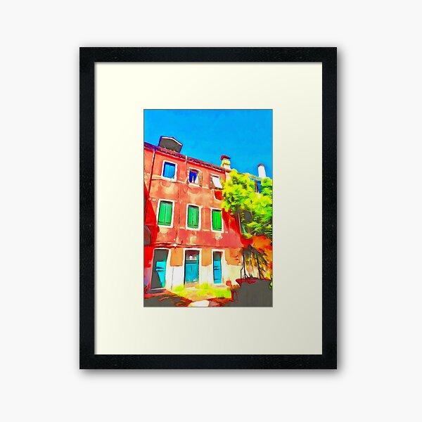 Colour in Venice Framed Art Print