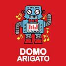 Domo Arigato iPhone case by DetourShirts