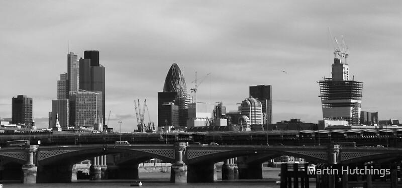 """Black & white panorama of London skyline"" Framed Prints ... | 800 x 374 jpeg 64kB"