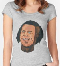 The Black Brad Pitt (Bromance #Special) Women's Fitted Scoop T-Shirt
