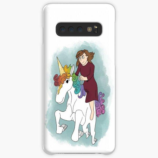 Gold and Rainbow Unicorn Samsung Galaxy Snap Case