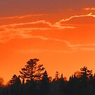 Sunset Skyline Kenora by Alex Call