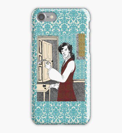 Libertine Sherlock  iPhone Case/Skin