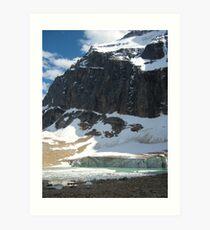Mt. Edith Cavell Art Print