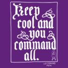 Calligraphy : Keep Cool by ltdRUN