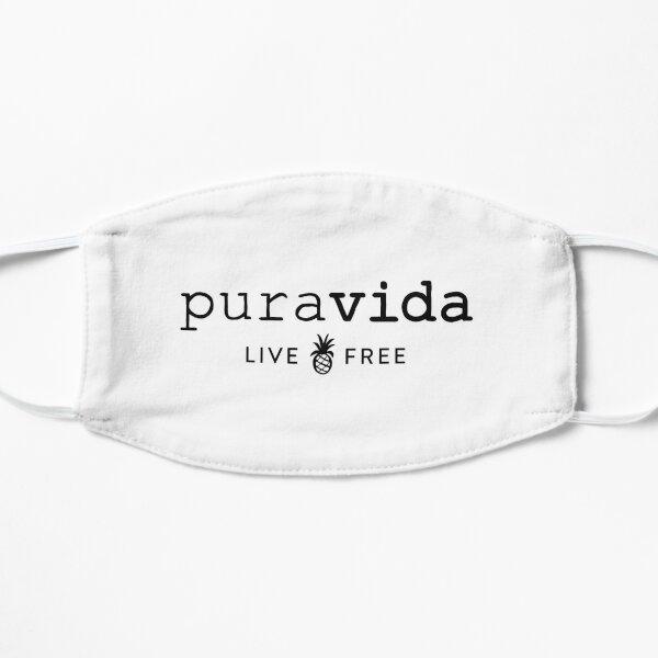Puravida Logo Sticker Flat Mask