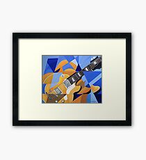 Where are the musicians? Framed Print