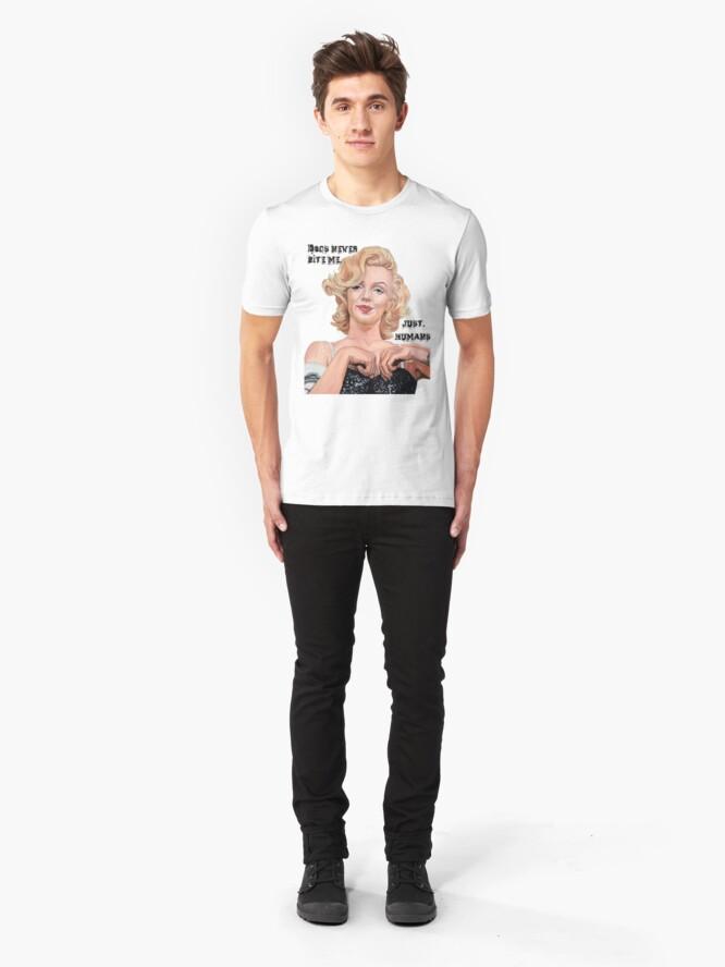 Alternate view of Marilyn Monroe Slim Fit T-Shirt