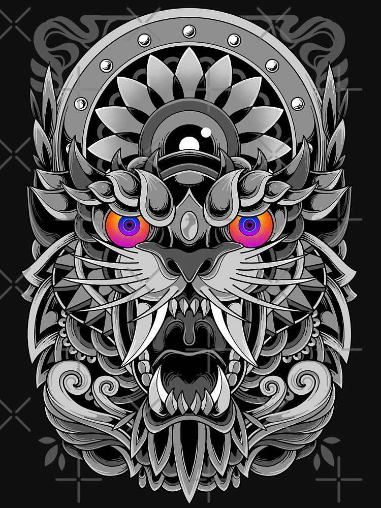 Angry Tiger  by GODZILLARGE