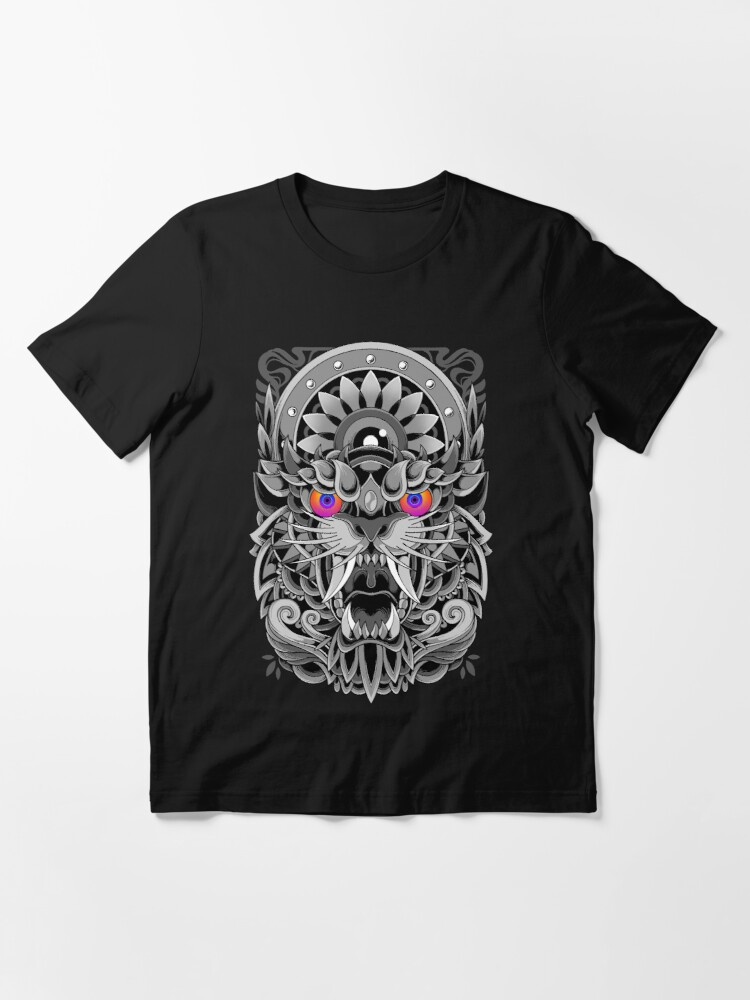 Alternate view of Angry Tiger  Essential T-Shirt