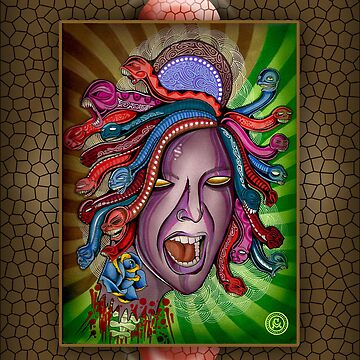Medusa Iphone Case by Psycheart
