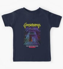 Goosebumps Welcome to the Dead House Kids Tee