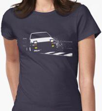 Japanese classic drift Women's Fitted T-Shirt