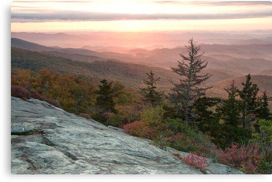 Blue Ridge Mountain Sunrise by Jane Best