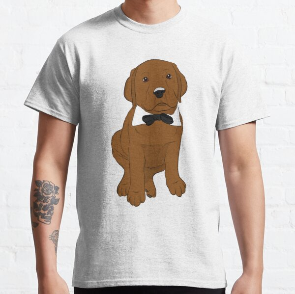 Marvin the Red Lab Puppy  Classic T-Shirt