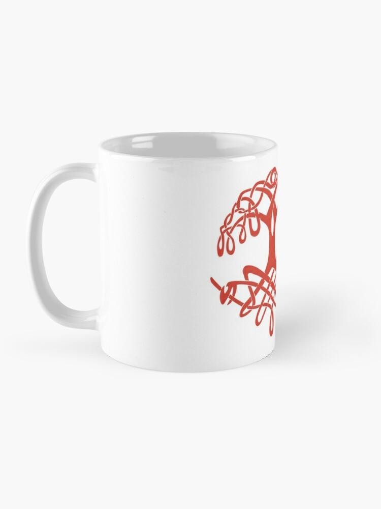 Alternate view of Celtic Tree of Life Mug