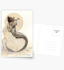 The Mermaid in the Moon Postcards