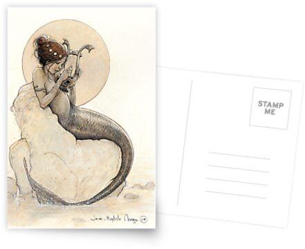 The Mermaid in the Moon von JBMonge